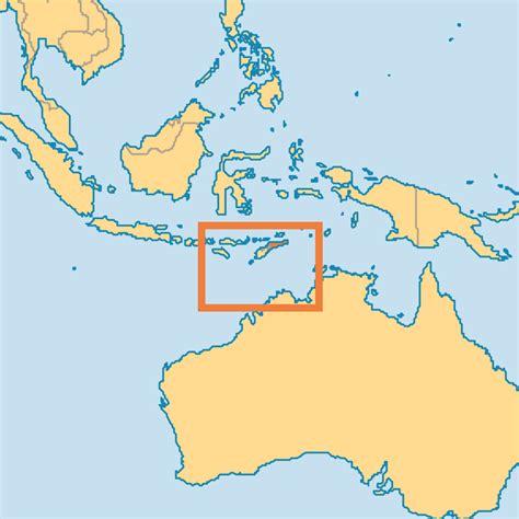 east timor regions map