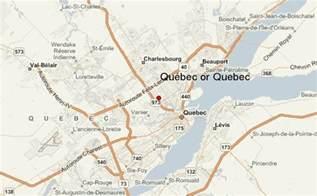 Quebec City Canada Location Map