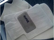 OEM BMW X3 floor mats TAN 20042010