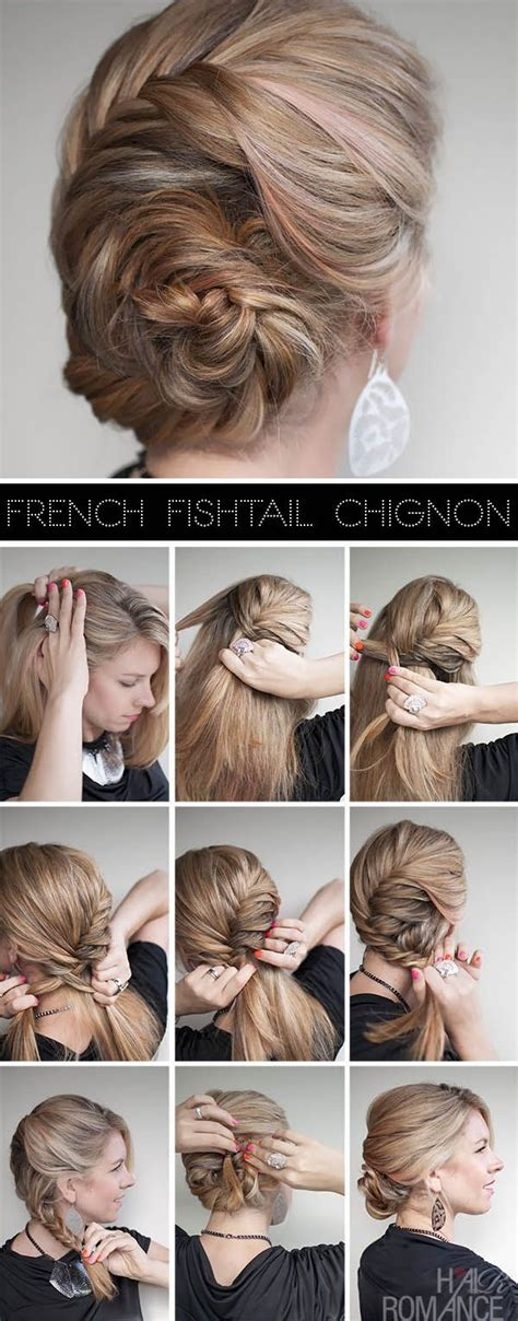 Braided Side Bun Hairstyles by Braided Hairstyle With Side Bun Alldaychic