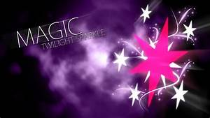 Twilight Sparkle Magic Cutie Mark Wallpaper by ...
