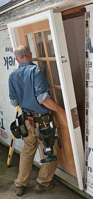 how to install a prehung door install a prehung exterior door homebuilding