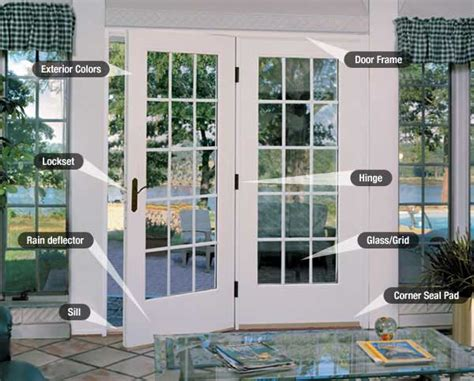 patio door styles tips  ordering