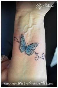 Tatouage Papillon Signification : tatouage papillon bleu ~ Melissatoandfro.com Idées de Décoration