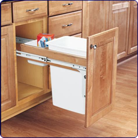 kitchen corner cabinet trash can pull out pull out trash cabinet doors kitchen