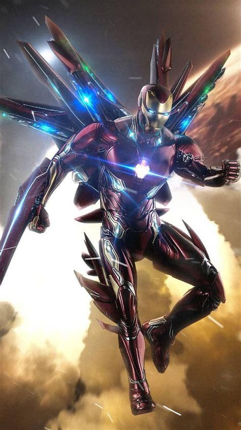 avengers endgame iron man suit iphone wallpaper  man