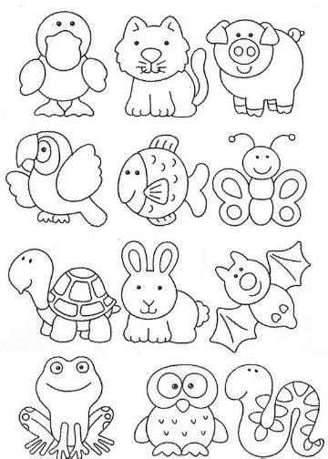 dibujos de animales de la selva  imprimir  colorear
