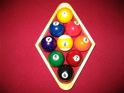 how to rack pool balls billiard 9 balls the billiards