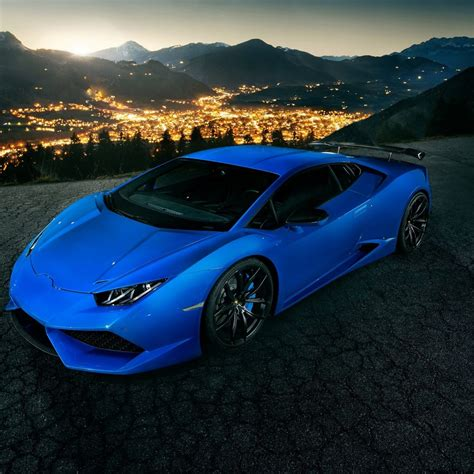 Blue Lamborghini Huracan Wallpaper Iphone by Blue Lamborghini Huracan 4k Hd Wallpaper 4k Cars Wallpapers