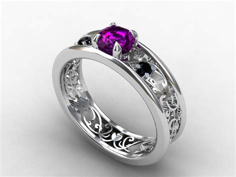 the gothic wedding rings wedding ideas and wedding planning tips