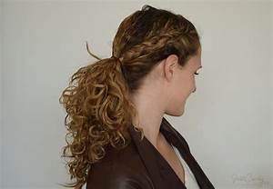 One dutch braid, two great hairstyles JustCurly