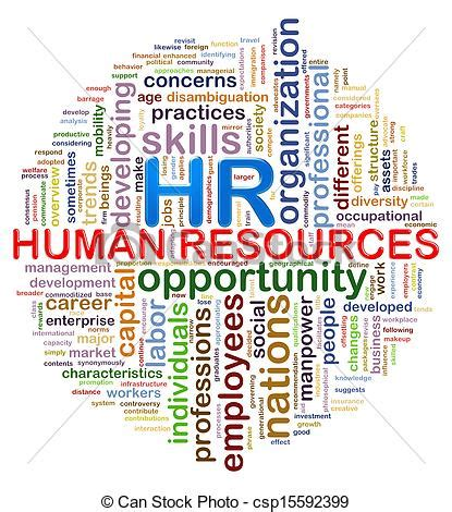 human resources clipart circular design hr human resources word tags wordcloud