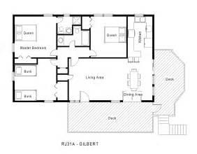 one level floor plans rj31a gilbert floorplan level 1 jpg midgett realty