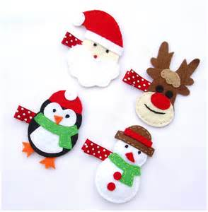 christmas hair clips the best gift for your baby girls blogforall