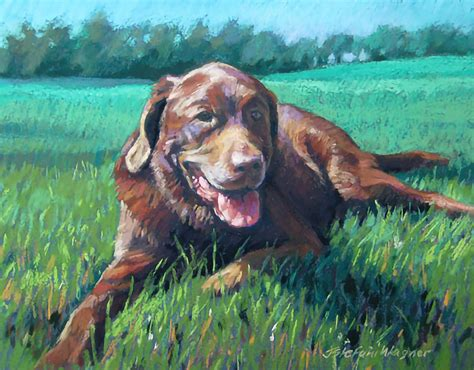 My Secret Passion Painting Pet Portraits