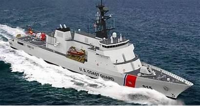 Guard Coast Radar Ship Cutter Patrol Offshore