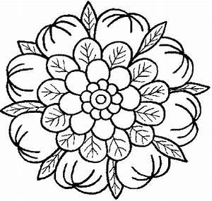 Dibujos Mandalas Para Colorear Pintar Gratis Mandala ...