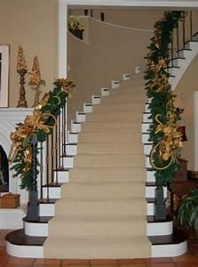 Décoration D Escalier Intérieur : 30 belles id es de no l pour d corer les escaliers ~ Nature-et-papiers.com Idées de Décoration