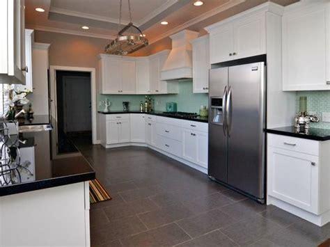 Lovely Kitchen. White Cabinets, Mint Green Tiled Back