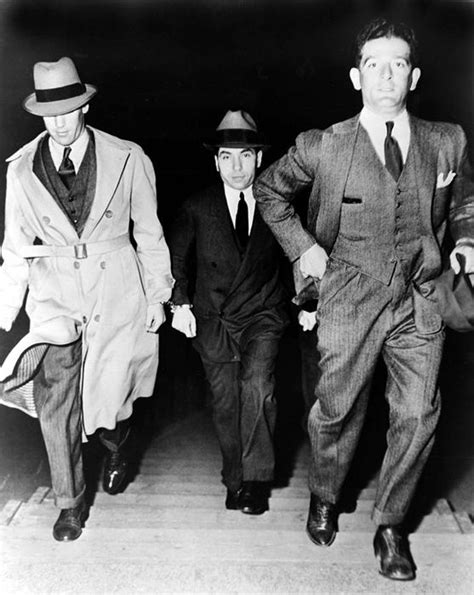 lucky luciano italian crime boss   york legends