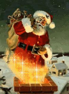 middelgrote kerst animaties schoorsteen