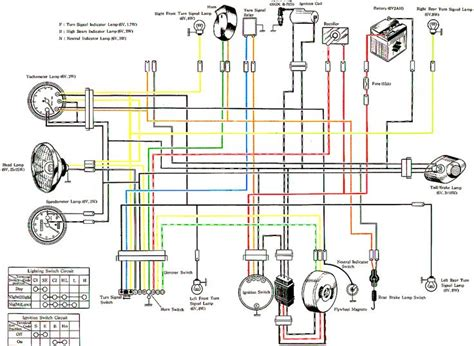 Suzuki Wiring Diagram Motorcycle Car Pinterest