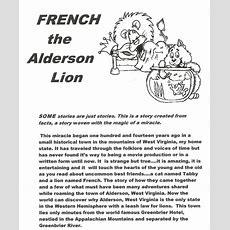 French, The Alderson Lion