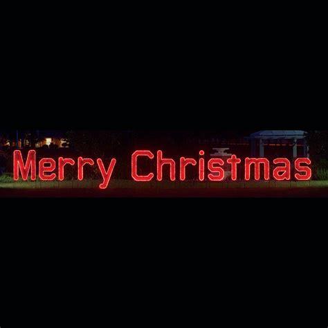 merry christmas lighted sign 39 merry christmas 39 led garland light display 40 39
