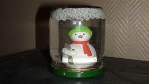 Fabriquer Boule à Neige Glycérine : la boule neige ~ Zukunftsfamilie.com Idées de Décoration
