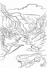 Canyon Grand Coloring Pages Printable Crafts Mountains Drawing Arizona Adult Nature Print Para Colorear Supercoloring Drawings Dibujos Road Imagenes Sheets sketch template