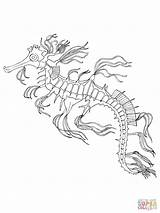 Coloring Seahorse Pages Sea Horse Adult Adults Seashore Drawing Printable Popular Coloringhome sketch template