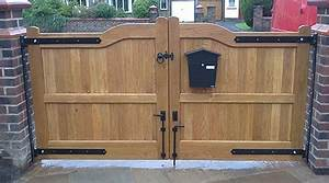 Portail En Bois Pas Cher : prix d 39 un portail en bois co t moyen tarif de pose ~ Melissatoandfro.com Idées de Décoration
