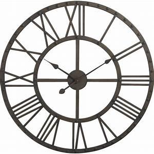 Horloge En Metal : horloge en m tal dhl1250 aubry gaspard ~ Teatrodelosmanantiales.com Idées de Décoration