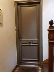 Porte D Entrée D Appartement : d 39 eco ouest porte d 39 entr e bois bouton rond solabaie ~ Melissatoandfro.com Idées de Décoration