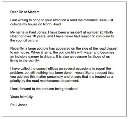 ielts general writing local problem letter ielts