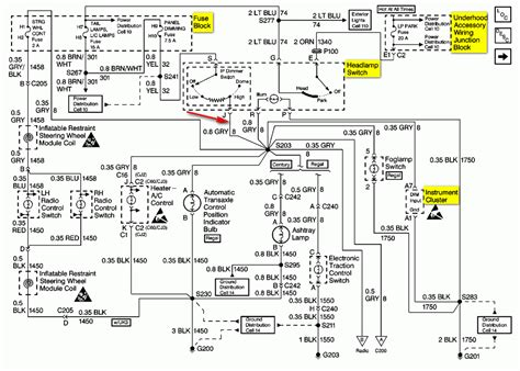 1994 Buick Lesabre Ignition Switch Wiring Diagram by Wiring Diagram For 1995 Buick Lesabre Wiring Diagram