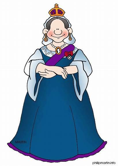 Queen Victoria History British Clipart Cartoon Martin