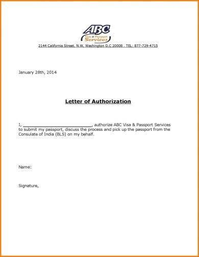 authorization letter format examples  examples