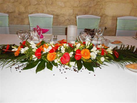 une decoration florale de mariage exotique en
