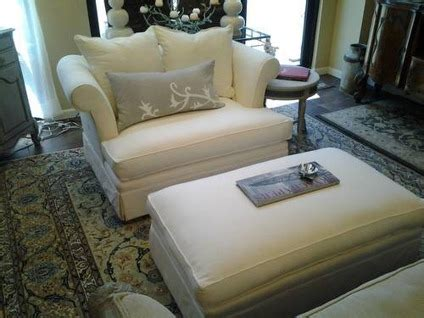 2 450 bernhardt chair and one half ottoman newly
