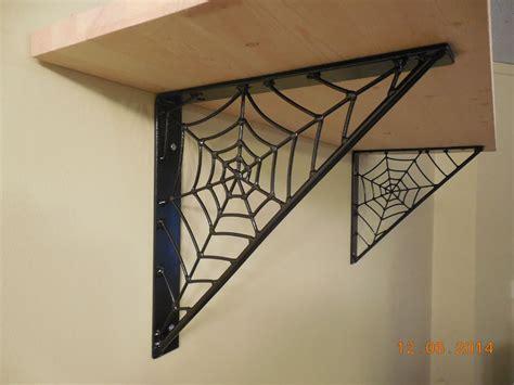 mike maloney spider web shelf brackets hand crafted