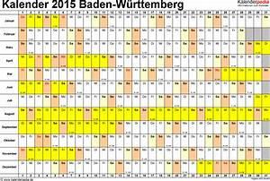 Kalenderwochen Berechnen : schulferien baden w rttemberg 2015 b rozubeh r ~ Themetempest.com Abrechnung