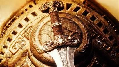 Aztec Warrior Background Skyrim Desktop Artwork Wallpapers