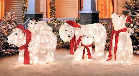 light up polar bear christmas decoration princess decor
