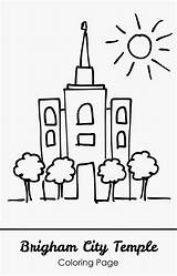 Coloring Temple Lds Brigham Printable Temples Clip Kid Clipart Church Sheet Template Apple Children Popular Activities Activity Drawing sketch template