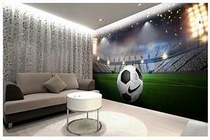 Football Field Wall Mural