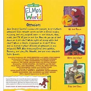 Sesame Street Elmo39s World Opposites