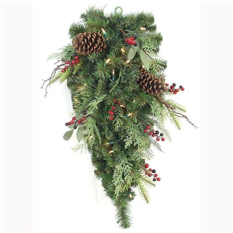 home accents holiday   pre lit woodland tales