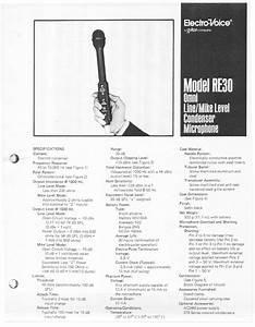 Re30 Manuals