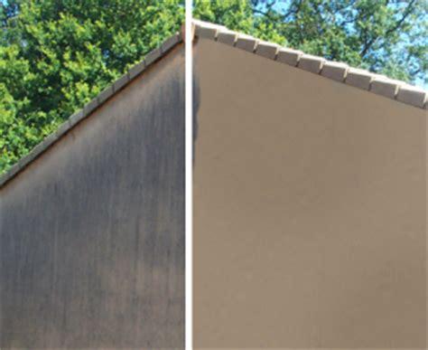 nettoyage mur exterieur eau de javel nettoyer une fa 231 ade le roi de la bricole